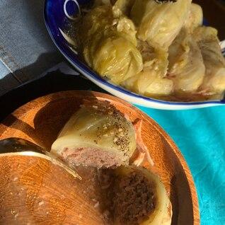 ロールキャベツ コンソメスープ