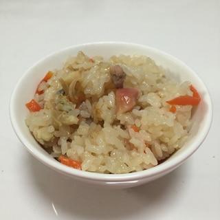 もち米入りホッキご飯♪