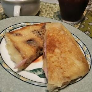 クロックムッシュ風フレンチトースト