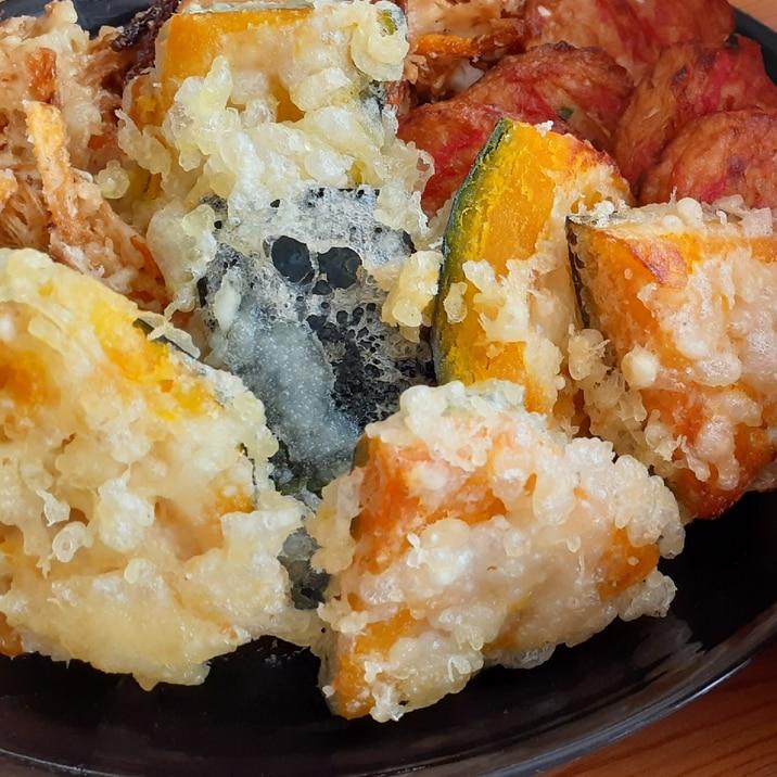 簡単カリホク!かぼちゃの天ぷら!おつまみにも!