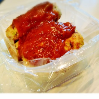 さば缶で簡単♪さばと豆腐のハンバーグ【さば~グ】★