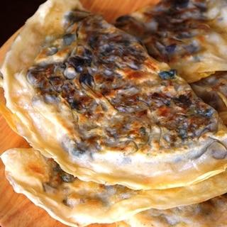 トルコ料理★ひき肉と茄子のギョズレメ