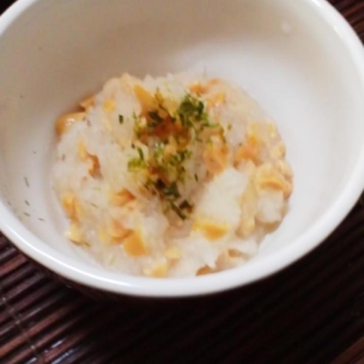 離乳食★おろし納豆