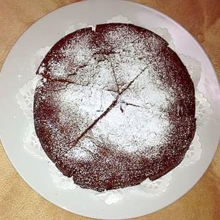 HMでチョコケーキ