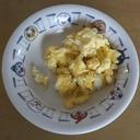 低脂肪乳いり♫炒り卵