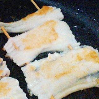 フライパンで★アナゴの白焼き