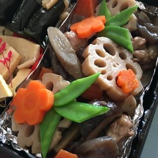 おせち料理♪昆布出汁と麺つゆで筑前煮♡