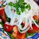 トマトのパセリサラダ