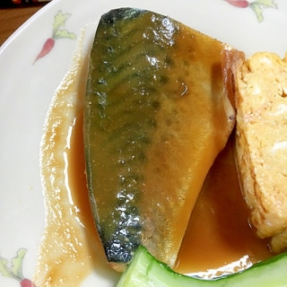 時短で出来る鯖味噌煮