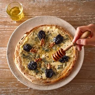 ゴルゴンゾーラのミツバチピザ