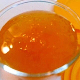 はっさく缶とオレンジジュースのゼリー