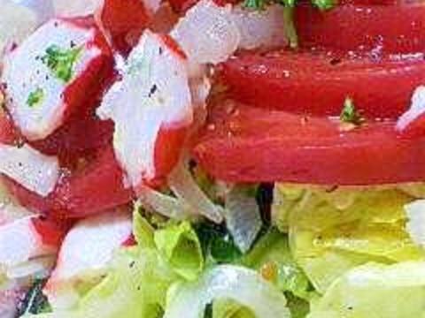 トマトとたこのサラダ☆