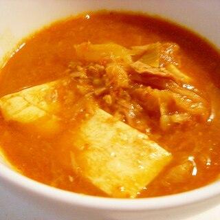 韓国 簡単なのに美味しい! 定番スープ キムチチゲ