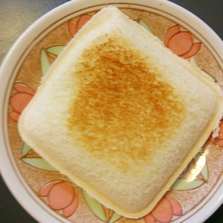 簡単♪朝ごパン♪ランチパック風ツナマヨパン