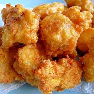 鶏ひき肉と豆腐のふわふわ揚げ