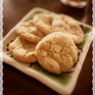 砂糖がけ生姜で ドロップジンジャークッキー