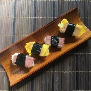 焼くだけ!簡単!!スパム寿司!!!