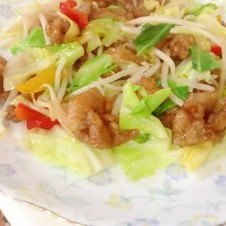 豚肉・野菜☆塩こしょう炒め