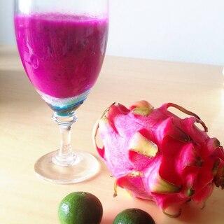 栄養の宝庫!簡単!夏だっドラゴンフルーツジュース