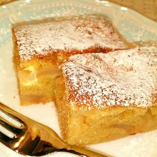 ⭐シナモン香る⭐林檎のアーモンドケーキ♪