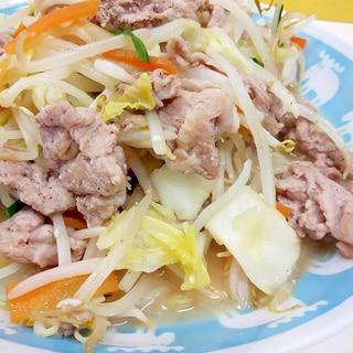 電子レンジで下処理(^^)豚肉と野菜の塩麹炒め♪