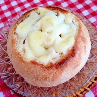カレーチーズのポットパン♡