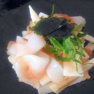 イカと長芋の明太子和え☆簡単もう一品
