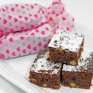 パンケーキミックスで簡単★ブラウニー風チョコケーキ