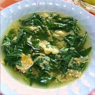 スタミナ夏野菜!夏バテにモロヘイヤのかき玉スープ
