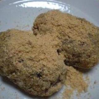 甘納豆を使って  「簡単で美味しいおはぎ」  ♪♪