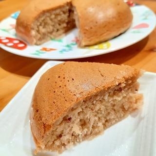 おしるこリメイク♪豆腐モチモチ炊飯器ケーキ