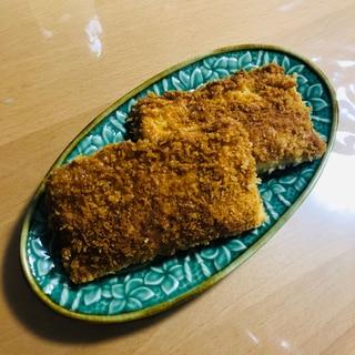 食パンで☆自宅で揚げたてカレーパンとパン耳ラスク♪