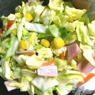 さっぱり美味しい!キャベツのサラダ