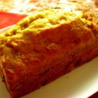 混ぜ混ぜカボチャのケーキ