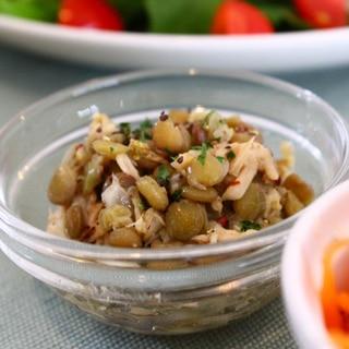 レンズ豆のマリネ
