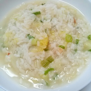 ちょっと雑炊de!野菜雑炊