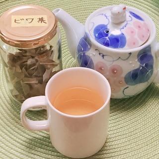びわの葉でびわ茶✧˖°
