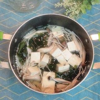 具だくさん!食べる和風スープ
