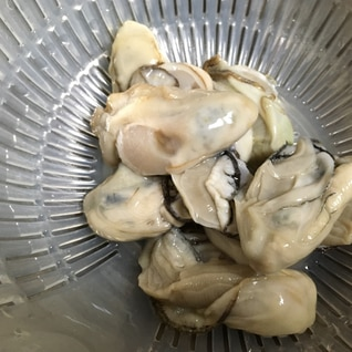 牡蠣の下処理 洗い方