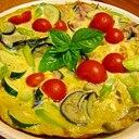 夏野菜たっぷり☆オープンオムレツ
