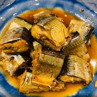 圧力鍋で 骨まで食べれるさんまの甘露煮
