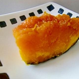簡単♪冷凍かぼちゃのレンジで煮物☆お弁当に♪