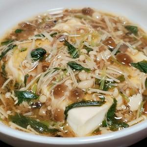 アツアツ♡とろ~り♡豆腐と茸のとろとろあんかけ♡