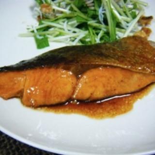 鮭の和風バターソテー