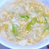 """ネギたっぷりの""""とろとろ卵スープ"""""""