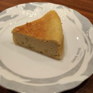 栗のベイクドチーズケーキ
