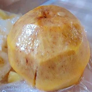 渋柿を甘柿にする方法(チンして柿の樽抜き風)