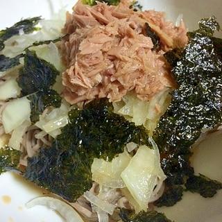 ツナ 蕎麦サラダ