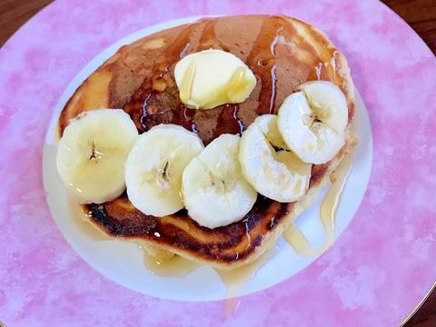 カフェオレホットケーキ~バナナトッピング