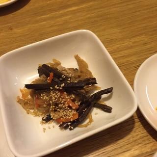 ワラビの炒め煮
